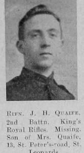 J H Quaife