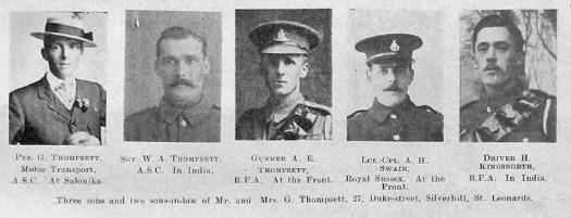 Thompsett, Swain & Kingsnorth