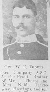 W E Thorpe