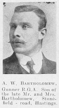 A W Bartholomew