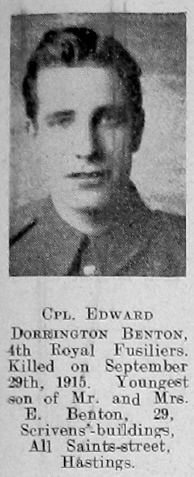 Edward Dorrington Benton