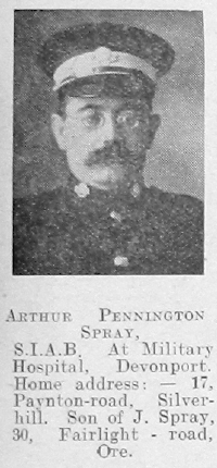 Arthur Pennington Spray