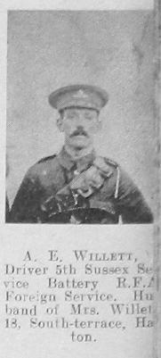 Willett, A E