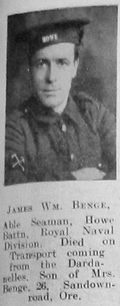 James William Benge