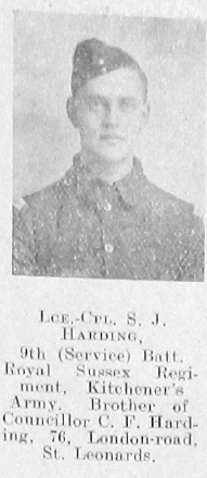 S J Harding