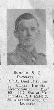 Sidney Charles Ratcliffe