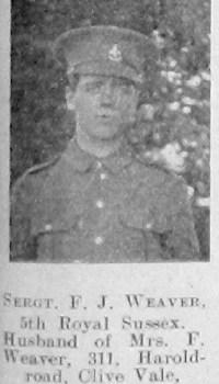 F J Weaver