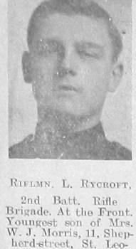 L Ryecroft