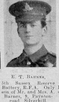 E T Barnes