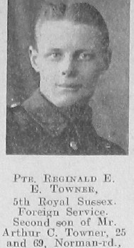 Reginald E Towner