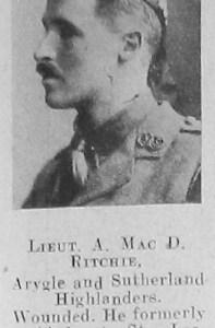 A M Ritchie