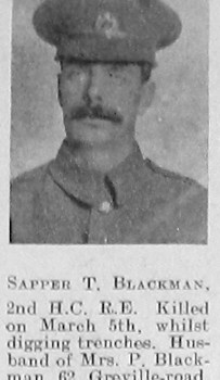 T Blackman