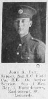 John A Day