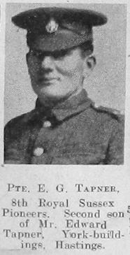 Ernest G Tapner