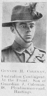 H Coleman