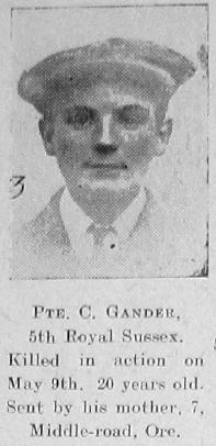 Charles Edward Gander