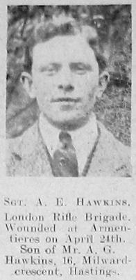 A E Hawkins