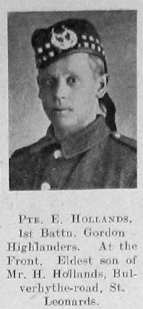 Ernest Hollands