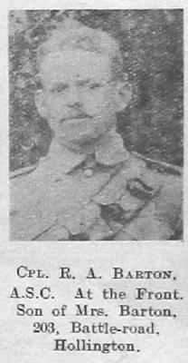 R A Barton