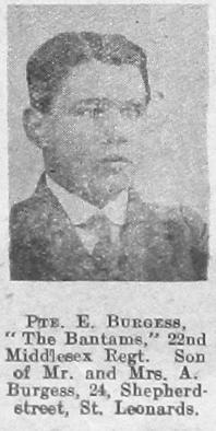 E Burgess