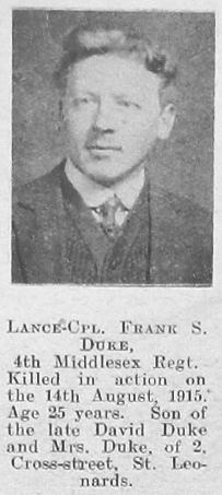 Frank Stanley Duke