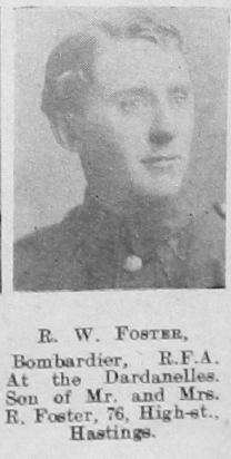 R W Foster
