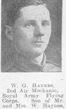 Walter George Haynes