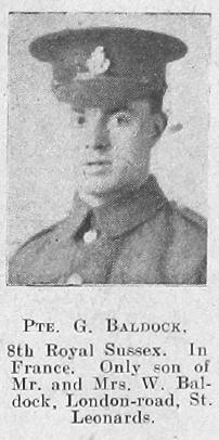 G Baldock