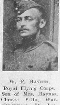 W R Haynes
