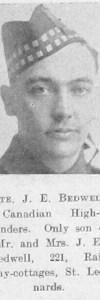 Bedwell, Joseph Edward
