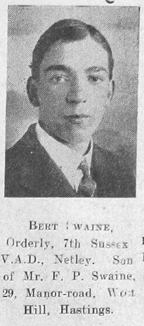 Bert Swaine