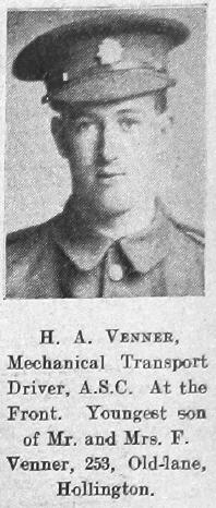 Herbert A Venner