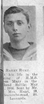 Harry Thomas Hunt