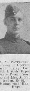 Pattenden, Francis Albert Victor