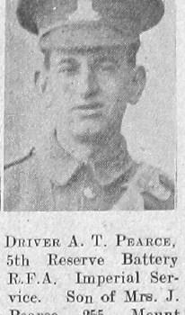 A T Pearce