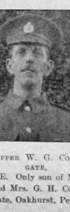 Colegate, William G