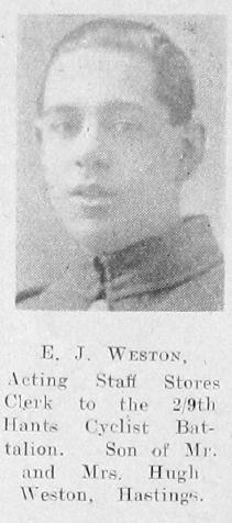 E J Weston