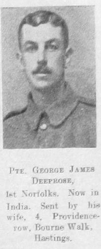 George James Deeprose