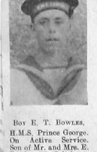 Ernest Thomas Bowles