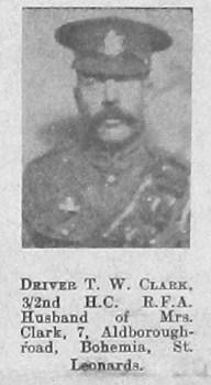 T W Clark