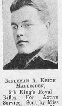 Arnold Keith Maplesden