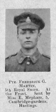 Frederick G Martin