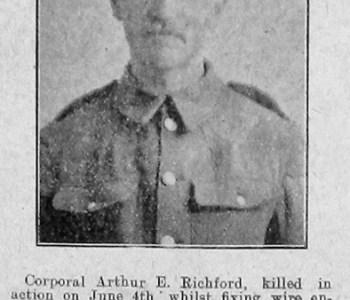 Arthur E Richford