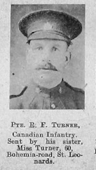 R F Turner