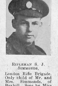 S J Simmonds