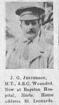 John G Jefferson