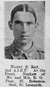 Harry S Ray
