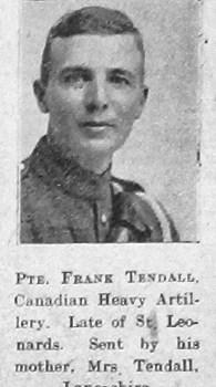 Francis Percy Tendall