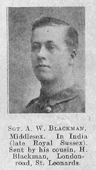 A W Blackman