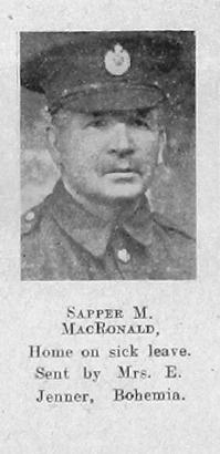 M MacDonald